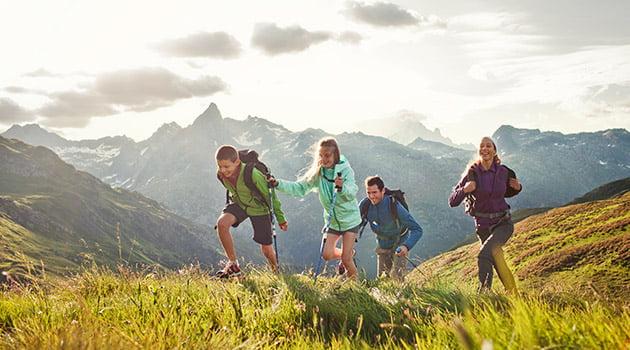 Los niños y la naturaleza | Blog Montaña Decathlon