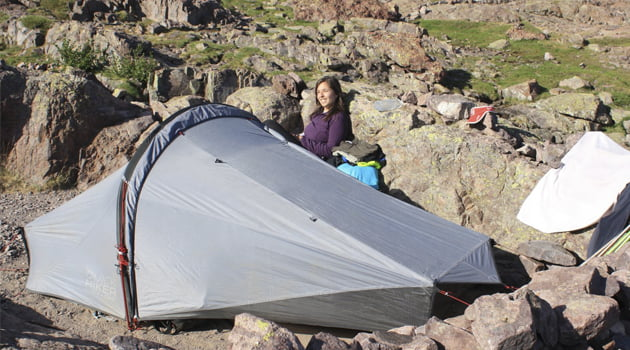 nuestra tienda Quechua Quickhiker Ultraligth II