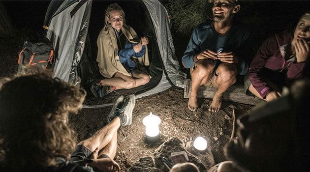 Camping-interior