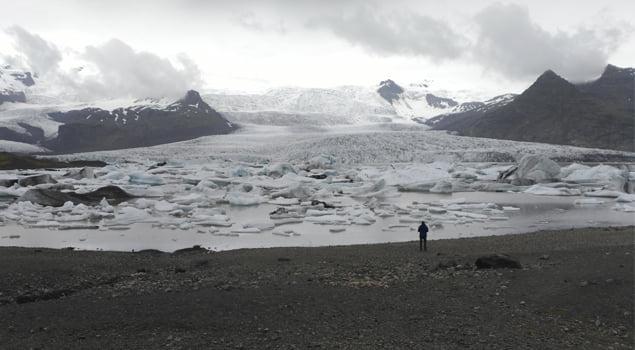 Glaciar de Vatnajökull.