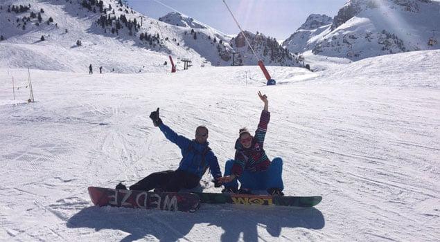 aprender snowboard-tabla snow-wed'ze