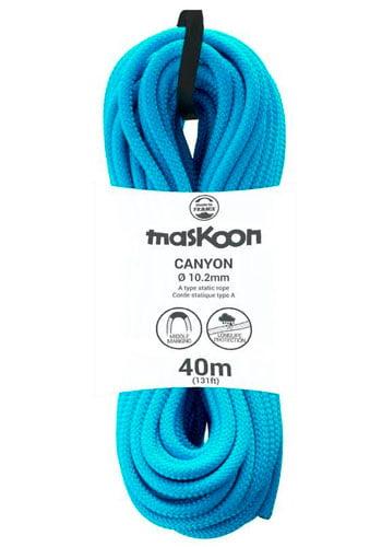 Material de barrancos marca Maskoon - Cuerdas y protector