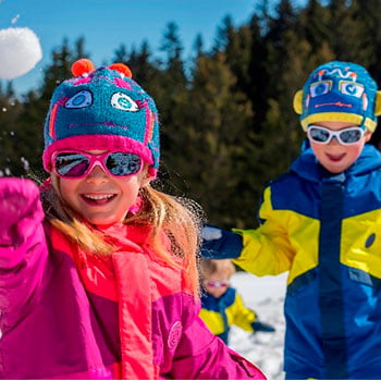 Disfruta de la nieve en familia