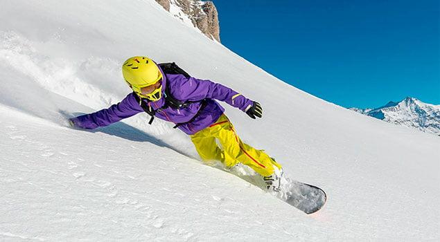 Snowboard inicio