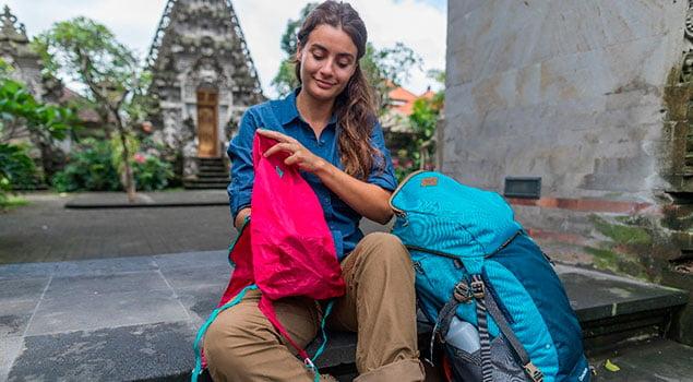 Viaje con mochila