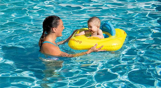 Enseña a nadar a tu hijo