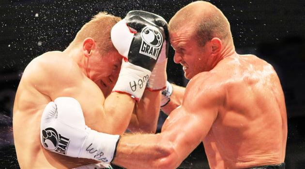 jugadores de boxeo