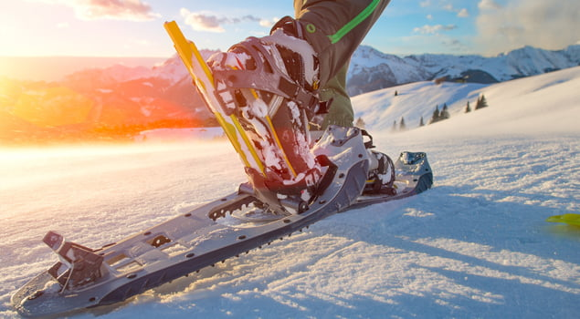 deportes de invierno raquetas nutricion deportiva