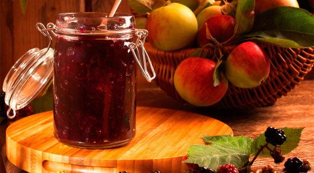 receta de zumo de moras y manzana