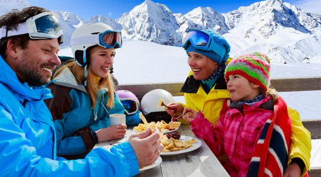 Nutricion para el snowboard