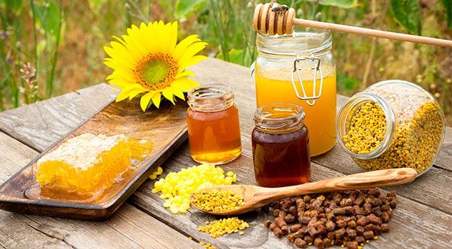 miel y musculación