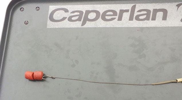 montaje para carpfishing