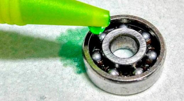 Limpieza de rodamientos