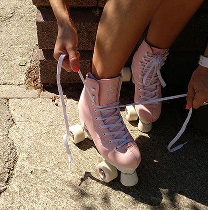 atarse los patines
