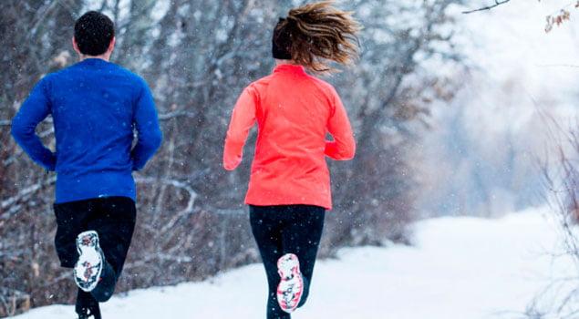 Beneficios a entrenar en invierno