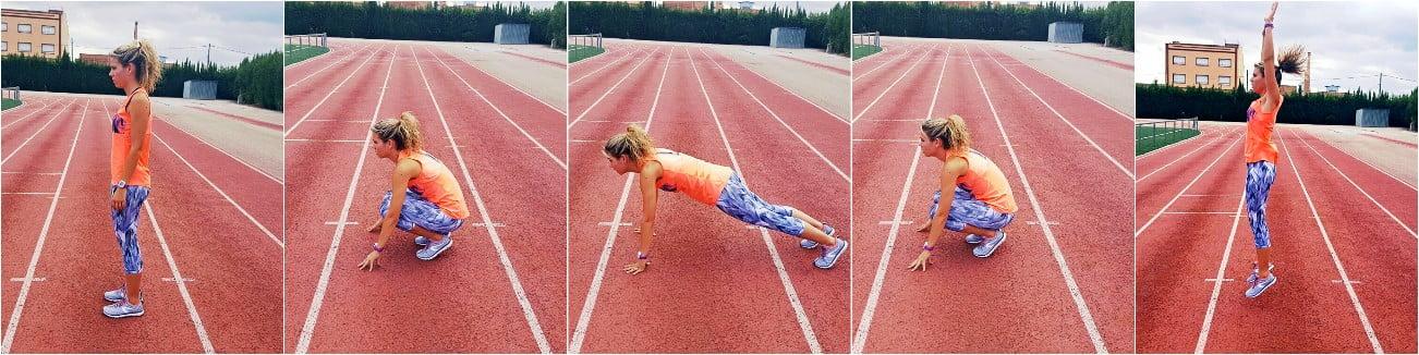 ejercicios de piernas-burpees
