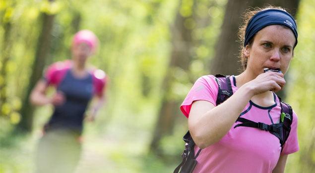 avituallamiento en el running