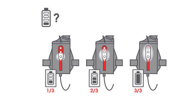 cargador linterna run light
