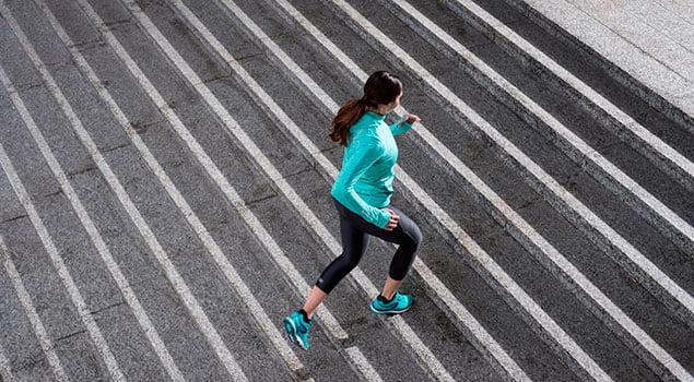 Ciclo menstrual Running