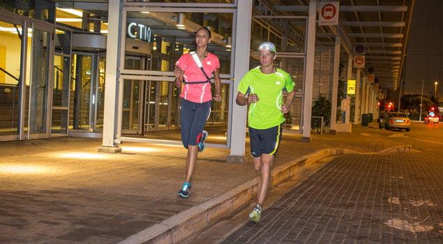 correr con calor-correr temprano