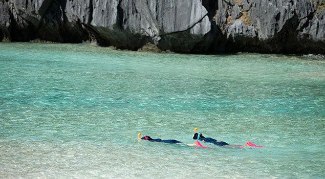 ¿Dónde hacer snorkel?