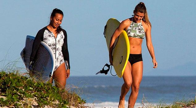 Riesgo de surfear