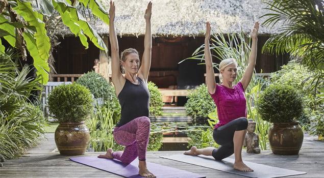 beneficios del yoga postura flexibilidad resistencia