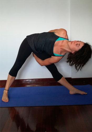 postura del triangulo variante 1